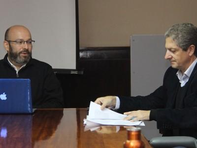 José Luis Martí y Marcelo Alegre