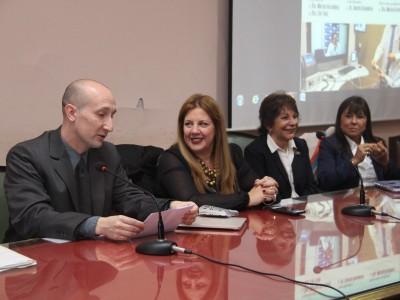 Andrés Brandolini, Marisa Aizenberg, Lily Flah y Mónica del Cerro