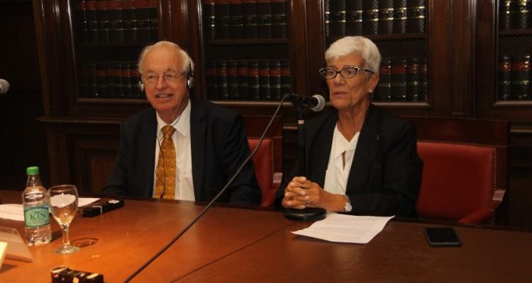 Rüdiger Wolfrum y Mónica Pinto