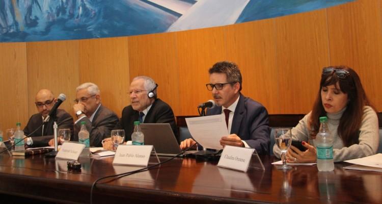 Omar Heffes, Enrique Zuleta Puceiro, Frederick Schauer, Juan Pablo Alonso y Claudina Orunesu