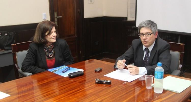 Mirta Álvarez y Francisco Andrés Santos