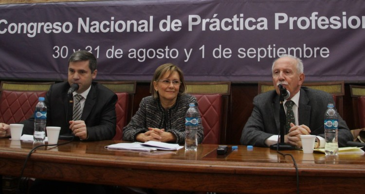 Javier Cornejo, Mabel de los Santos y Jorge Kielmanovich