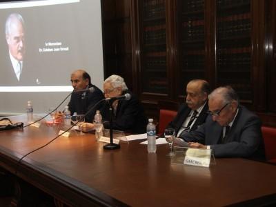 Diego Barroetaveña, Arístides H. M. Corti, José Osvaldo Casás e Isaac Molina