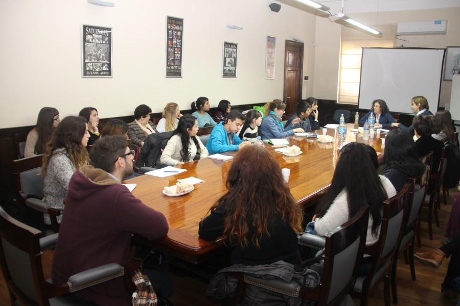 Encuentro de Derechos Humanos con Mary Beloff