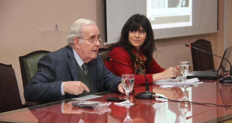 Tulio Ortiz y Luciana B. Scotti