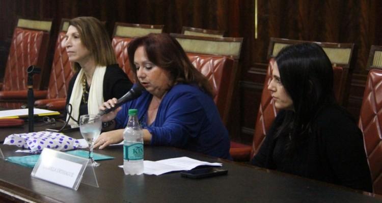 Alejandra Jorge, Beatriz Rodríguez  y Gabriela Urthiague