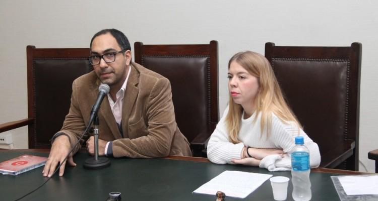 Gustavo Beade y Laura García Martín