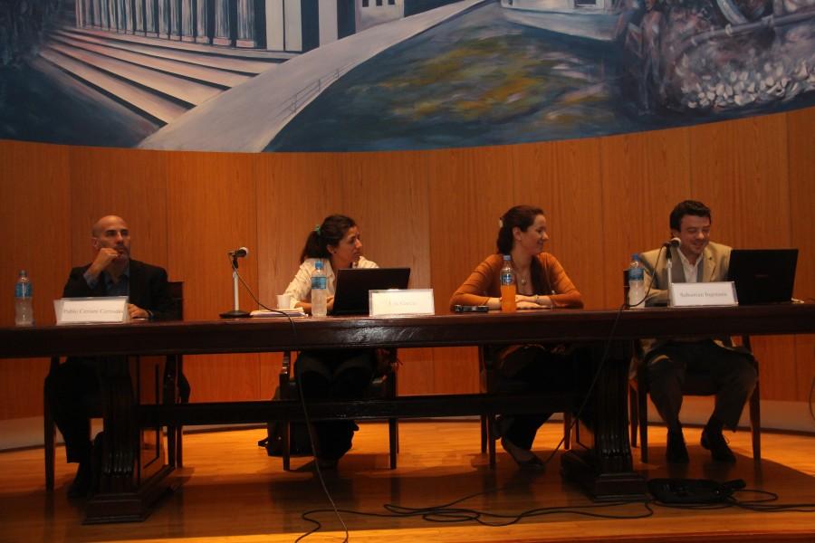 Pablo Ceriani Cernadas, Lila García, Diana Español y Sebastián Ingrassia