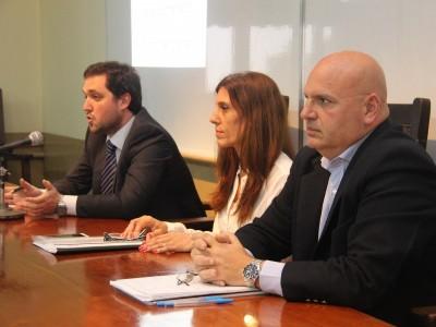 Francisco Alfonsín, Andrea Frascarelli y Carlos Saiz