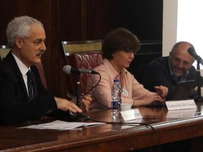 Mario Carretero, Gabriela Di Gesú y Sergio Salvatore