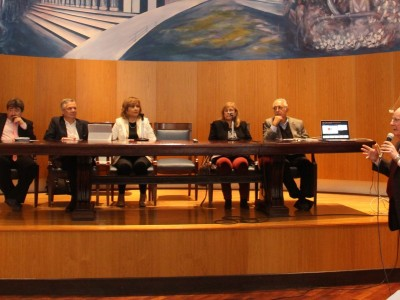 Mauro Brangold, Guillermo Schord-Landman, Judit Díaz Bazán, Graciela Brusa, Eduardo Molina Quiroga y Daniel Altmark