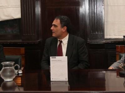Graciela Medina, Juan Antonio Seda y Leandro Vergara