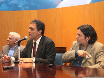 José Orler, Juan Antonio Seda y Ricardo Rabinovich-Berkman