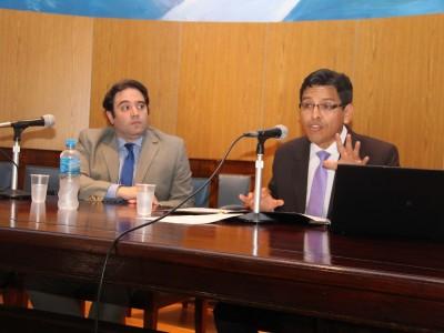 Carlos Christian Sueiro y James Reategui Sánchez