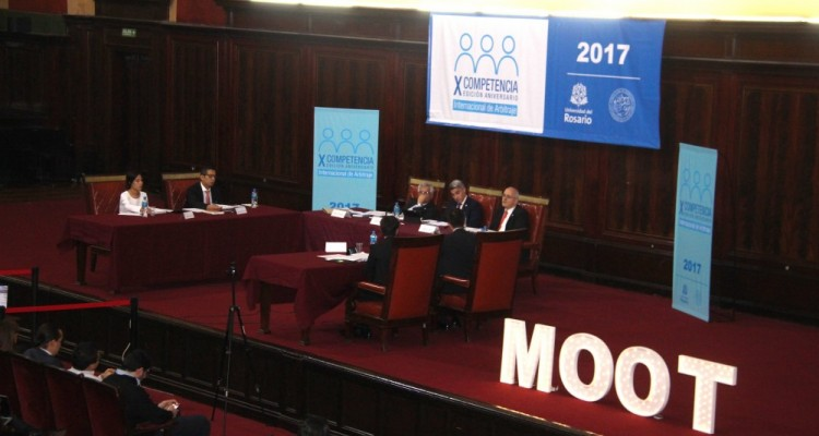 La audiencia final reunió a la Universidad Nacional de Colombia (Colombia) y a la Universidad Peruana de Ciencias Aplicadas (Perú)