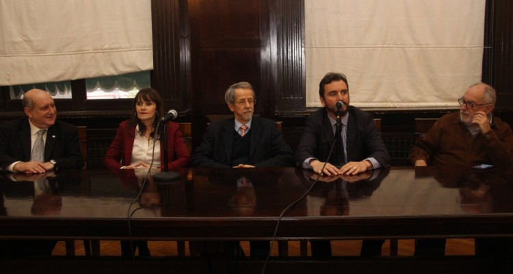 Miguel Ángel Maza, Silvia Pinto Varela, Osvaldo Maddaloni, Juan Pablo Mugnolo y Mario Ackerman
