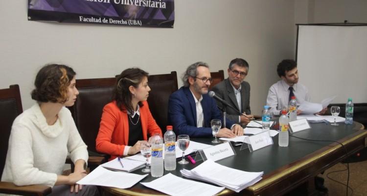 Katia Rosenblat, Agustina Becerra Vázquez, Jean-Paul Céré, Gustavo Garibaldi y Matías Yohai