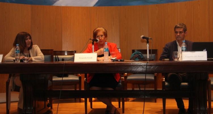 Adriana Martínez, Graciela Güidi y Eugenio del Busto