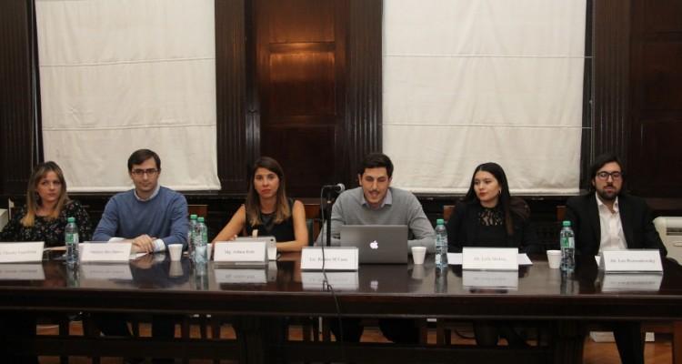 Ornela Flavia Vanzillotta, Francisco Sáez Zamora, Aldana Rohr, Ramiro M´cann, Leila Vanesa Medina y Leo Rozwadowsky
