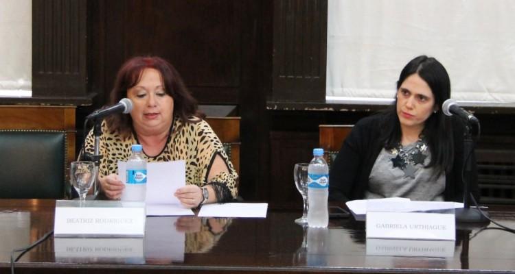 Beatriz Rodríguez y Gabriela Urthiague