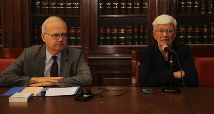 Emmanuel Decaux y Mónica Pinto