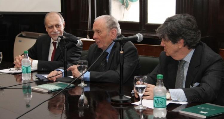 Horacio Bermúdez, Norberto Padilla y Juan Vicente Sola