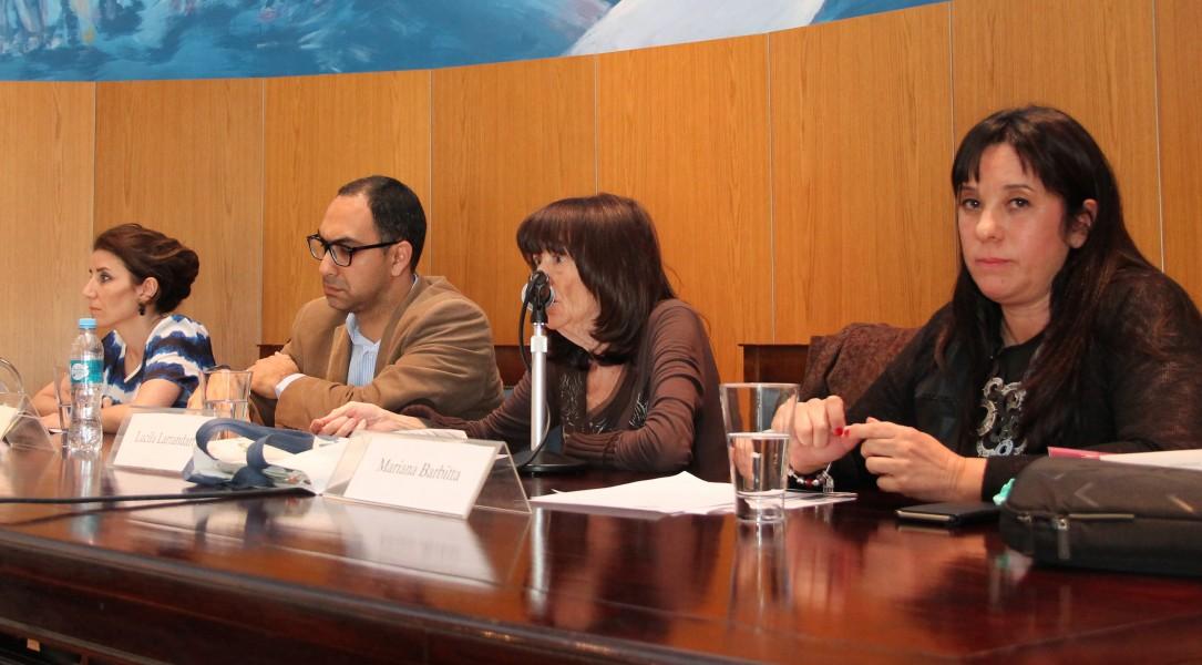 Julieta Di Corleto, Gustavo Beade, Lucila Larrandart y Mariana Barbitta