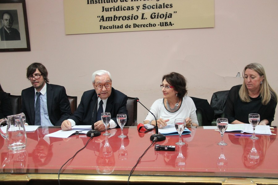 Mariano Candal, Ricardo Guibourg, Elsa Porta y Cecilia Murray