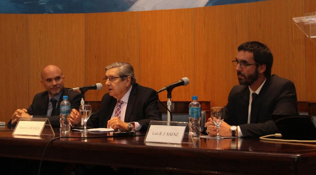 Sebastián Picasso, Alberto J. Bueres y Luis R. J. Sáenz
