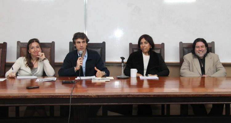 Andrea Gastron, Guido Croxatto, María Rosa Ávila y Ricardo Rabinovich Berkman