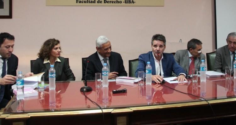 Juan Gustavo Corvalán, Isolina Dabove, Enrique Zuleta Puceiro, Juan Pablo Alonso, Renato Rabbi-Baldi Cabanillas y Eduardo Quintana