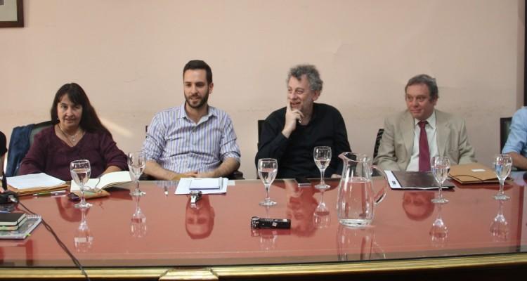 María Laura Böhm, Silvina Ramírez, Mauro Benente, Daniel Feierstein, Marcelo Ferreira y Leandro E. Costanzo