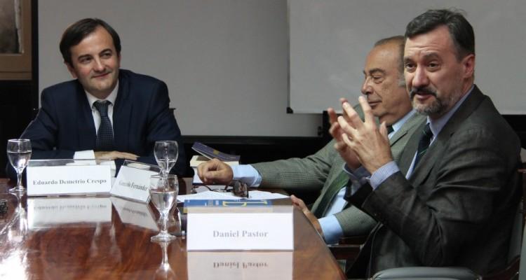 Eduardo Demetrio Crespo, Gonzalo Fernández y Daniel Pastor