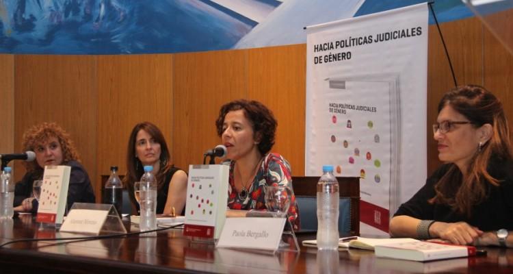 Patricia Gómez, Raquel Asensio, Aluminé Moreno y Paola Bergallo