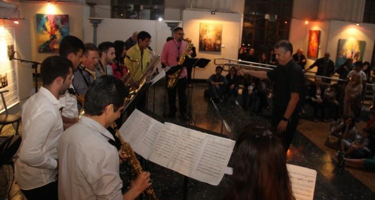 """Orquesta de Saxofones del Conservatorio de Música """"Julián Aguirre"""""""