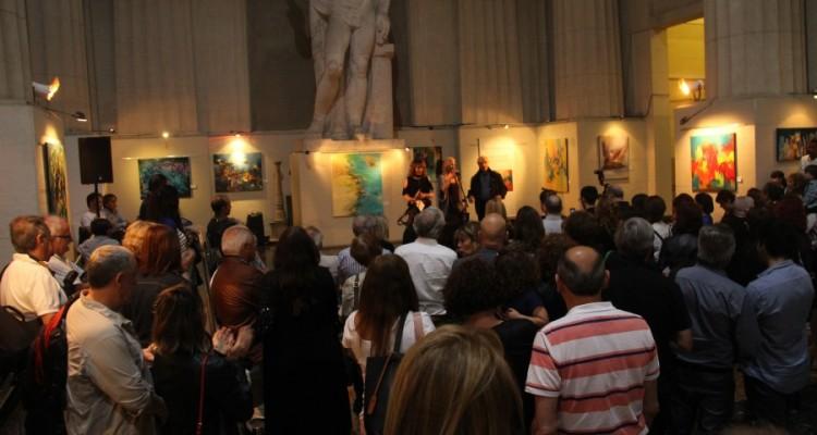 Inauguración de la muestra anual de esencialismo, del taller de Heriberto Zorrilla y Helena Distéfano.