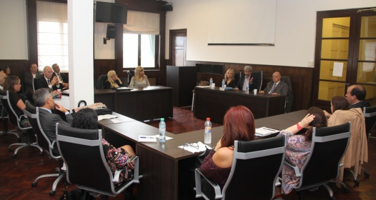 El Departamento de Práctica Profesional inauguró un espacio de intercambio entre docentes y jueces y funcionarios de la justicia nacional