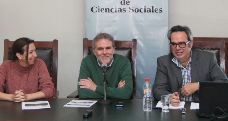 Andrea Gastron, Enrique del Percio y Roberto Esposto