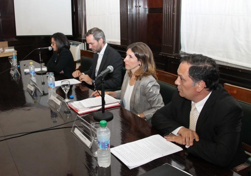 Marina Ávila Montequín, Tomás Arceo, Valeria Zayat y Luis Devoto