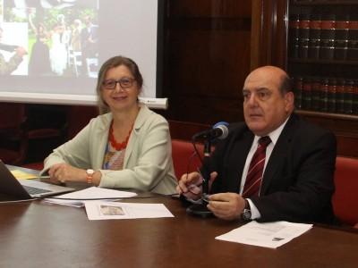 Bárbara Grunenfelder-Elliker y Roberto Malkassian