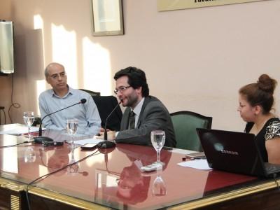 Eduardo Rivera López, Elian Pregno y Noelia Cortinas