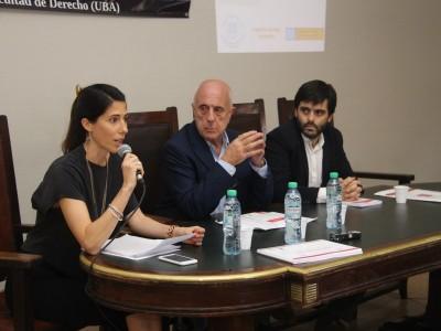 Mariana Calaon, Luis María Chichizola y Ramiro J. Rua