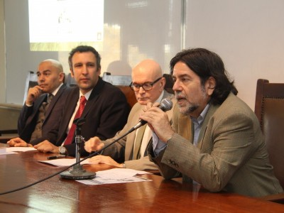 Sandro Olaza Pallero, Agustín Bernardo Bonaveri, Rubén Darío Salas y Ricardo Rabinovich-Berkman
