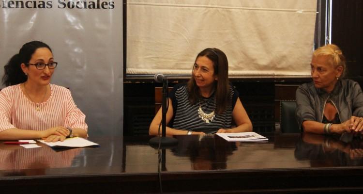 Ángela Amante, Andrea L. Gastron y Zulma García Cuerva