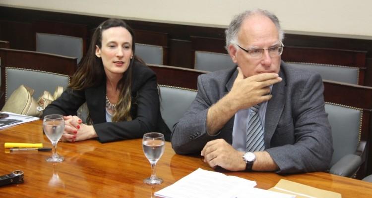 Agustina Gil Belloni y Harry Dorfman