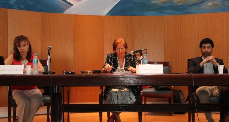 Sandra Arcos Valcárcel, Graciela Güidi y Matías Belancín