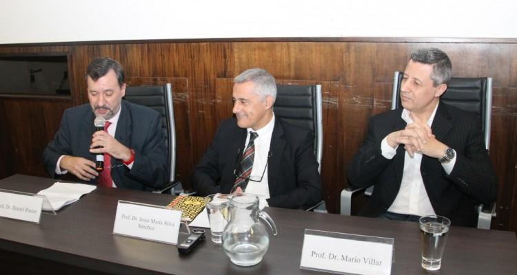 Daniel Pastor, Jesús María Silva Sánchez y Mario Villar