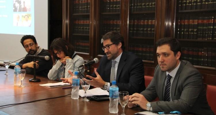 Joseph Foti, Mónica Pinto y Renzo Falla