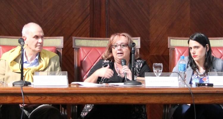 Pablo Palacios, Beatriz Rodríguez y Gabriela Urthiague