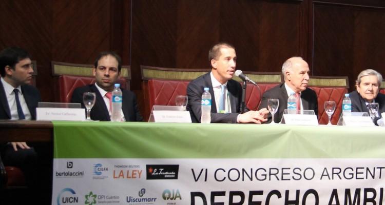 Néstor Cafferatta,Federico Zonis,Gustavo Rinaldi,Pablo Lorenzetti, Ricardo L. Lorenzetti, Alberto Bueres y Guillermo Marchesi